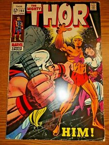Mighty Thor #165 Hot Key GVG 1st Adam Warlock Him Kirby Cover Stan Lee Marvel