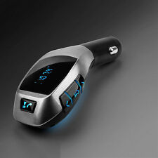 Wireless Bluetooth Transmitter X5 Music Player FM LCD Radio Adapter USB Charger