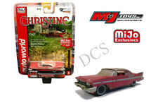 AUTO WORLD 1958 PLYMOUTH FURY CHRISTINE DIRTY VERSION 1/64 DIECAST CAR CP7440