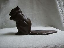 Door stopper in cast iron Brown Squirrel