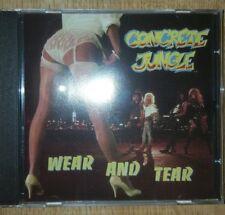 CD CONCRETE JUNGLE - Wear and Tear AOR GLAM 80S RARE INDIE kidd wkkid kk wilde