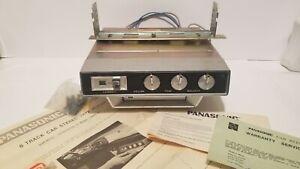 Vtg UNUSED Panasonic CX-807 SU  8 Track Tape Player under dash