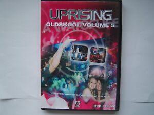 UPRISING OLDSKOOL 4 PACK CDs VOLUME 5 FREEPOST
