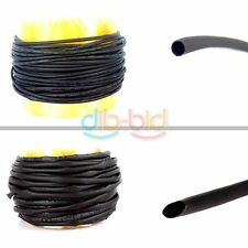 4/20P 1M 10M 2mm 4mm 8mm Shrink Black Wire Heat Shrinkable Tube Wrap Safe Delive