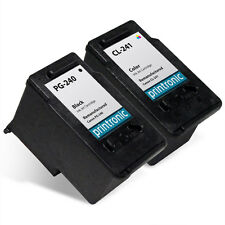 2 Pack Canon PG-240 CL-241 Ink Cartridges PIXMA MG2220 MG3222 MX372 MX452 MX522