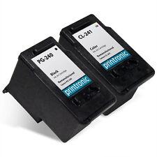 2 Pack Canon PG-240 CL-241 Ink Cartridges PIXMA MG2220 MG3222 MX372 MX452 MX522