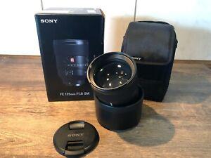 Sony 135mm1.8 GM, wie neu, mit Rechnung, inkl OVP