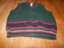 Kids Play : Baby Boys Size 24 Months / Green And Red Vest