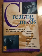 Creating Minds Howard Gardner 1993 Paper cover Educational Psychology