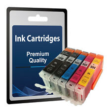 5 Ink Cartridges for Canon Pixma IP7250 IP8750 IX6850 MG5450 MG5550 MG5650