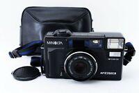 N-Mint🌟 Minolta Hi-Matic AF2-MD 35mm Black Point & Shoot Film Camera from Japan