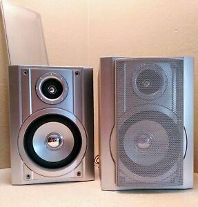 Sharp CP-UH240 2-Way Speakers Working great.