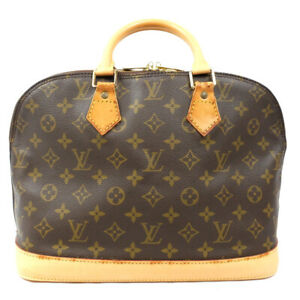LOUIS VUITTON Alma PM Handbag Monogram Brown M51130