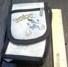 Nintendo Pokemon Gameboy Color / DS Deluxe Carrying Case Pouch Silver Lugia