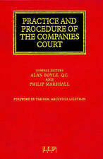 Practice and Procedure of the Companies Court (Lloyd's Commercial Law Library)