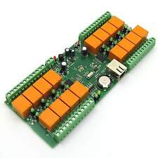 Denkovi LAN IP 16 Canali Relè Scheda Internet Ethernet Domotica Modulo, 12VDC
