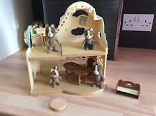 Sylvanian Families Rainbow Nursery With Family Of 4 & Some Furniture