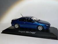Peugeot 406 coupé de 1997 au 1/43 de Minichamps / Maxichamps