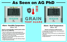 Grain Temp Guard, bin temperature moisture monitoring alarm system