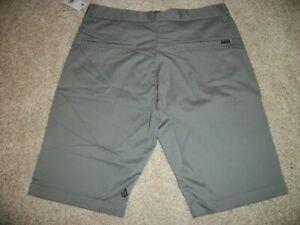 VOLCOM STONE New NWT Mens Casual Frickin Chino Shorts Light Gray 214 Style