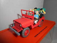 JEEP WILLYS MB 1943 TINTIN AU PAYS DE L´OR NOIR 1:43
