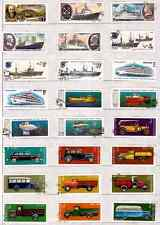 RUSSIA T.stuck on element: the boats,submarines, cars ,trucks SP77