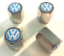 High Quality Chrome Metal VW Volkswagen Valve Caps Tyre Dust Caps Polo Golf