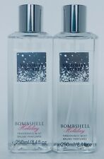 2 VICTORIA'S SECRET BOMBSHELL HOLIDAY FRAGRANCE MIST BRUME PARFUMEE 8.4oz