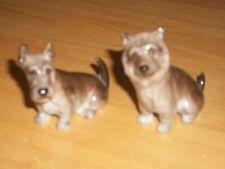 Pair of Royal Doulton Miniature Dogs; Bone China