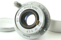 【 Excellent +++++ 】Leica Leitz Elmar 50mm 5cm F/3.5 L39 LTM Lens From JAPAN #427