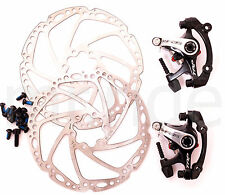 PAIR TRP SPYRE 160 x2 mechanical disc brake Dual Side Actuation road bike set