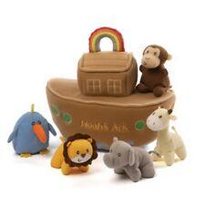 Baby Gund - Noah'S Ark - 6 Piece Playset - Animal Sound Toys - Retired Sale