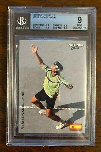 2003 Netpro Elite #G19 Rafael Nadal /100 Rookie Card BGS 9 Mint RC
