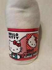 "Hello Kitty Polka Dot Fleece Throw Blanket 46"" x 60"" 100% Polyester by Sanrio"
