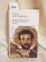 von chamisso storia straordinaria di peter schlemihl poesie