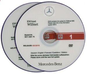 Mercedes & Smart Wis 4/2015 Repair Manuals - Handbücher Reparaturband
