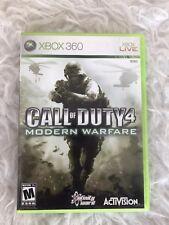 Preowned Xbox 360 Call Of Duty 4 Modern Warfare