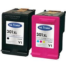 HP 301XL Black & Colour Ink Cartridges - Latest V1 for HP Deskjet 3050A