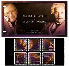 Einstein & Hawking 100 Years of General Relativity Presentation Pack (UK41)