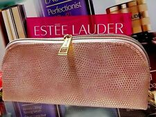 "Estee Lauder Cosmetic Makeup Bag ☾ Pink & Gold Point ☽ ""New Season Release!!"""
