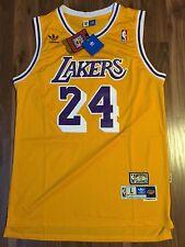 NBA LA LAKERS KOBE BRYANT JERSEY #24 SIZE LARGE MEN YELLOW