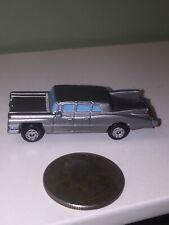 1989 Galoob Micro Machines '59 Cadillac Limousine Limo Car (Silver) Nice Shape