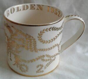 Wedgwood Richard Guyatt Mug Queen Elizabeth 11 Golden Jubilee 2002 Edition 500.