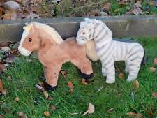 Adorabile amici-VINTAGE Steiff Pony, pulsante in Ear & Old tedesco ZEBRA AMICO