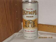 Olympia Beer Export Type 16 0z  beer can bottom opened