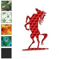 Horse Stallion Decal Sticker Choose Pattern + Size #897