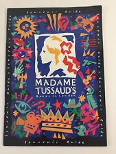 Madame Tussaud's Wax Museum London Souvenir Guide Paperback 1992 32 Pages