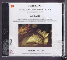 JS BACH / F BUSONI CD NEW FANTASIA CONTRAPPUNTISTICA/ PRELUDE PIERRE GUILLOT