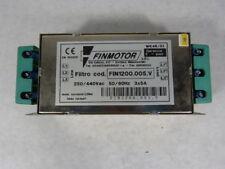 Finmotor FIN1200.005.V Three Phase Filter ! WOW !