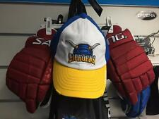 New Licensed Gongshow Hockey BIGHORNS Always Hung Trucker Hat MSP $35 ____B06